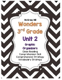McGraw-Hill Wonders 3rd Grade Unit 2 Reading Strategies Story Skills Pack