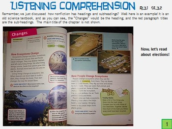 McGraw-Hill Wonders 3rd Grade Unit 2, Week 3 Bundle with Easy Power Point Guide