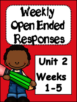 McGraw-Hill Wonders 4th Grade  Unit 2 Weekly Open Ended Questions