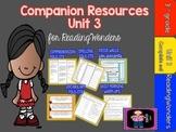 "Reading Wonders Unit 3 ""The Complete Set"" of Mega Pack Units for Grade 3"
