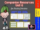 "Reading Wonders Unit 6 ""The Complete Set"" of Mega Pack Units for Grade 3"