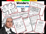 McGraw Hill Wonders 4th Grade Interactive Journal Unit 4 Week 1