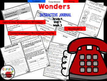 Wonders 4th Grade Interactive Journal Unit 4 Week 3