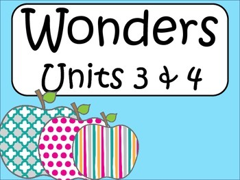 4th Grade Supplemental Materials Unit 2: Weeks 3 and 4