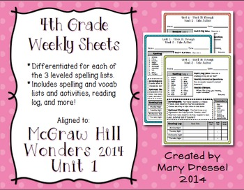 McGraw Hill Wonders 4th Grade - Unit 1