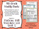 McGraw Hill Wonders 4th Grade - Unit 2