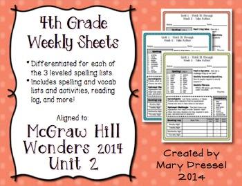 McGraw Hill Wonders 4th Grade - Unit 2