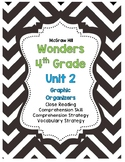 McGraw-Hill Wonders 4th Grade Unit 2 Reading Strategies Story Skills Pack