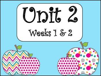 4th Grade Unit 2 Supplemental Materials: Weeks 1&2
