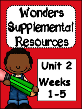 McGraw-Hill Wonders 4th Grade  Unit 2 Supplemental Resources