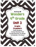 McGraw Hill Wonders 4th Grade Unit 3 Reading Strategies Story Skills Pack