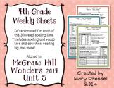 McGraw Hill Wonders 4th Grade - Unit 5