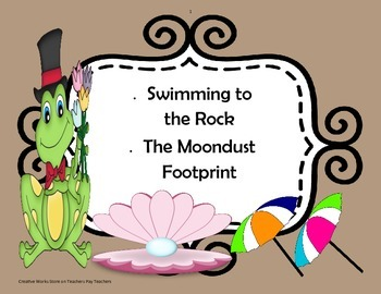 Swimming to the Rock + The Moondust Footprint' Poetry Analysis - 4th Grade