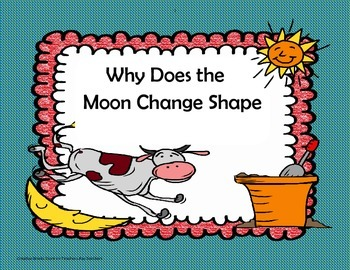 """'Why Does the Moon Change Shape?"""" - 4th Grade -Trifolds + Activities"""