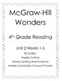 McGraw Hill Wonders 4th grade Reading Unit 2