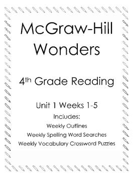 McGraw Hill Wonders Reading 4th grade Unit 1