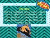 McGraw Hill Wonders, 5th - Davy Crockett Saves the World Vocabulary Bundle