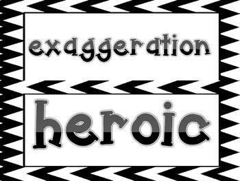 McGraw Hill Wonders, 5th - Davy Crockett Saves the World Vocabulary Cards