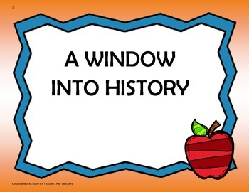 A Window into History - 5th Grade Tri Folds + Activities