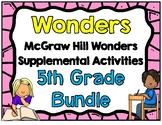 McGraw Hill Wonders 5th Grade Activities Bundle