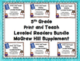 McGraw Hill Wonders 5th Grade Bundled Units 1-6 Print and