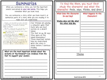 Wonders 5th Grade Interactive Journal Unit 3 BUNDLE