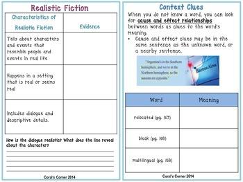 Wonders 5th Grade Interactive Journal Unit 3 Week 1