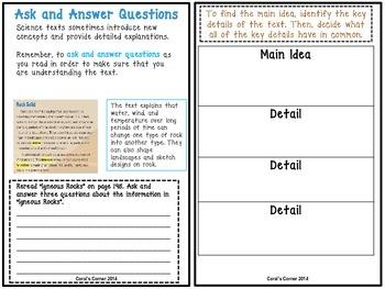 Wonders 5th Grade Interactive Journal  Unit 3 Week 3