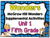 McGraw Hill Wonders 5th Grade Unit 1 Activities