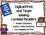 McGraw Hill Wonders 5th Grade Unit 1 Print and Teach Leveled Readers