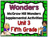 McGraw Hill Wonders 5th Grade Unit 3 Activities