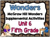 McGraw Hill Wonders 5th Grade Unit 6 Activities