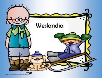 Weslandia  - Trifolds + Activities