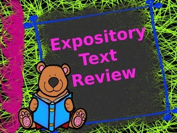 McGraw Hill Wonders, 5th - One Well Expository Text Power Point