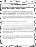McGraw Hill Wonders, 5th Rosa Text Dependent Questions