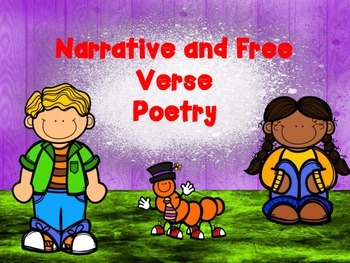 McGraw Hill Wonders, 5th - Stage Fright Narrative, Free Verse Power Point