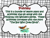 McGraw Hill Wonders, 5th - The Boy Who Drew Birds Lesson P