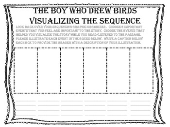 "McGraw Hill Wonders, 5th - ""The Boy Who Drew Birds"" Visualize the Sequence"