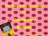 McGraw Hill Wonders, 5th - The Boy Who Invented TV Vocabulary Bundle