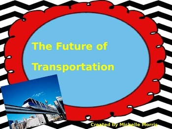 McGraw Hill Wonders, 5th - The Future of Transportation Vocabulary Bundle