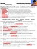 McGraw Hill Wonders, 5th Weslandia Vocabulary Review