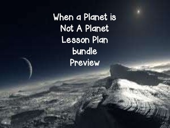 McGraw Hill Wonders - 5th When A Planet Is Not A Planet Lesson Plan Bundle