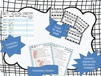 McGraw Hill Wonders, 5th - Winter's Tail Vocabulary Bundle