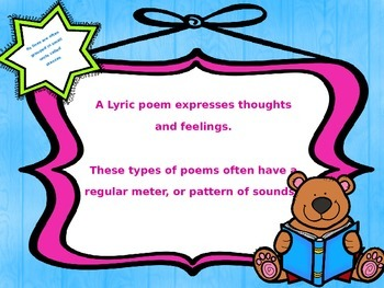 McGraw Hill Wonders, 5th - Words Free as Confetti Free Verse PPT