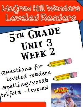 McGraw Hill Wonders 5th grade Unit 3 Wk 2