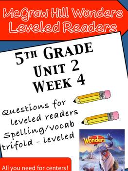 McGraw Hill Wonders 5th grade Unit 2 Wk 4