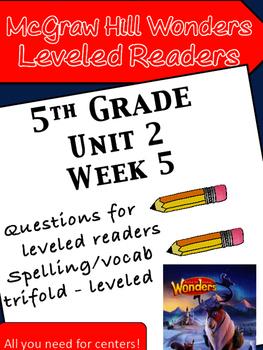 McGraw Hill Wonders 5th grade Unit 2 Wk 5