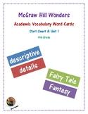 McGraw Hill Wonders Academic Vocabulary Words: Start Smart