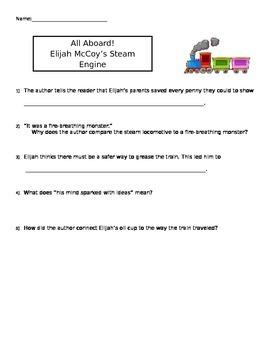"McGraw-Hill Wonders ""All Aboard! Elijah McCoy's Steam Engine"" (Unit 1 Week 4)"