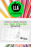 McGraw-Hill: Wonders All Year Spelling Homework